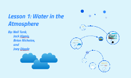 Lesson 1: Water in the Atmosphere