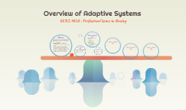 Overview of Adaptive Systems