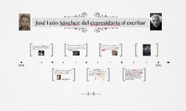 José León Sánchez: del expresidario al escritor
