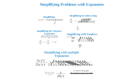 Simplifying Problems w/ Exponents