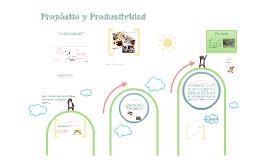 Propósito y Productividad