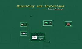 Discovery and Inventions