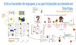 Estructuración de equipos y su participación accionaria en Startups