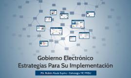 El Estado al servicio del ciudadano y el gobierno electronico
