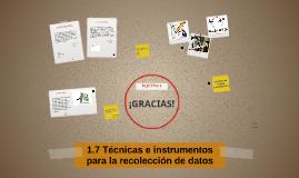 Copy of 1.7 Técnicas e instrumentos para la recolección de datos