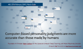 Computer-based personality judgments are more