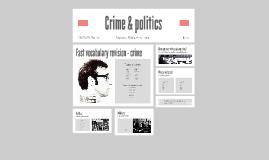Crime & politics