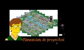 Planeación de proyectos (Simmerville Cap 23)
