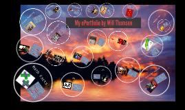 my eportfolio by will thomson