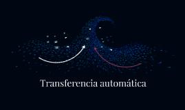 Transferencia automática
