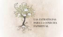 LAS ESTRATEGIAS PARA LA COSECHA ESPIRITUAL