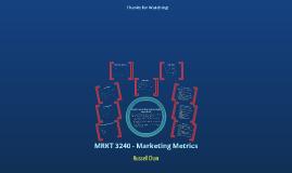 MRKT 3240 - E Portfolio