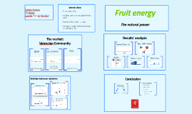 Copy of Fruit energy