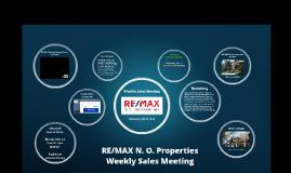 Weekly Sales Meeting, May 29, 2019