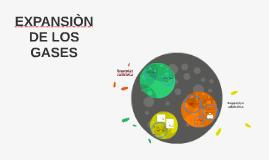 EXPANSIÒN DE LOS GASES