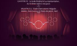 CHAPITRE III - Le texte théâtral et sa représentation,