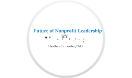 Future of Nonprofit Leadership - Training for Texas Permian Basin
