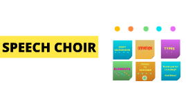Copy of Copy of SPEECH CHOIR