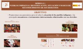 Copy of M1/T4. Pueblos indígenas y Cooperación española.