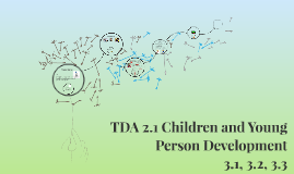Copy of TDA 2.1 Children and Young Person Development