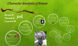 Character Analysis of Simon