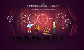 Australian Drama and Theatre
