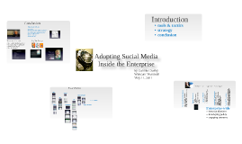 Adopting Social Media Inside the Enterprise