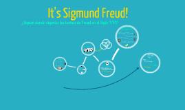 It's Sigmund Freud!
