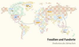 Fossilien und Fundorte
