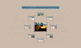 Making the Case: Institutional Support for Change