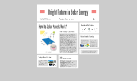 Bright Future in Solar Power