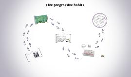 Five Progressive Spiritual Habits