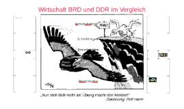 Wirtschaft BRD und DDR im Vergleich