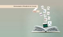 Epistemología o Filosofía de las Ciencias