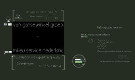 Innovation in Services - Gansewinkel vs. MSN