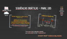 SEQUÊNCIAS DIDÁTICAS - PNAIC 2013