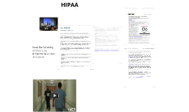 Copy of HIPAA and Confidentiality