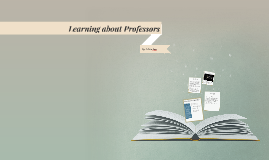 Learning about Professors
