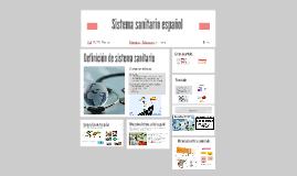 Copy of Sistema sanitario español