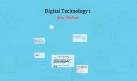 Digital Technology 1