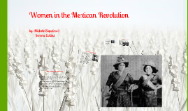 Women in the Mexican Revolution