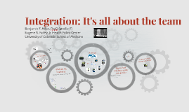 Integration: It's all about the team