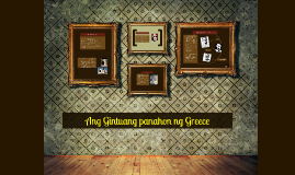 Copy of Ang Gintuang panahon ng Greece
