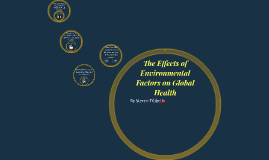 The Effects of Environmental Factors on Global Health