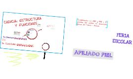 Copy of CIENCIA: ESTRUCTURA Y FUNCIONES