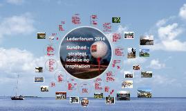 Lederforum 2014