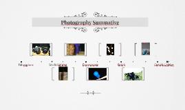 Photography Summative