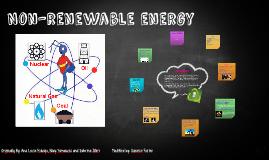 Copy of Non-renewable energy