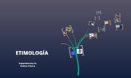 Etimología en Cultura Clásica