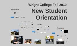 New Student Orientation, Fall 2019